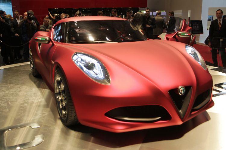 <b>Alfa Romeo 4C</b>