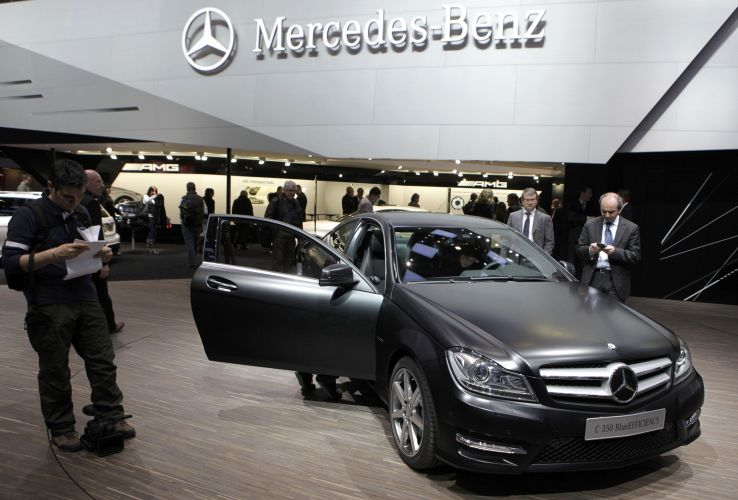 <b>Mercedes-Benz C 350 Blue Efficiency</b>