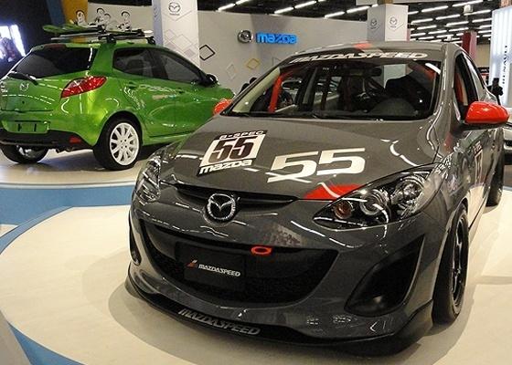 <b>Mazda2 apareceu fantasiado no M&#233;xico, onde ser&#225; fabricado a partir de 2012</b>
