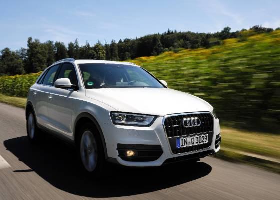 O menor dos SUV da Audi nem liga muito para BMW X1 -- mira está sobre o baby Range Rover