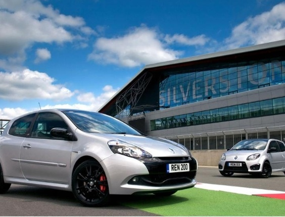 Renault Clio e Twingo Silverstone