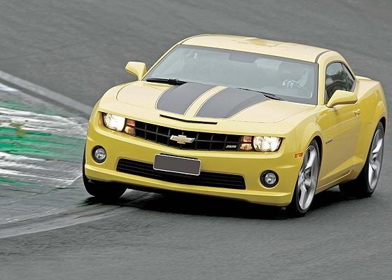 Chevrolet Camaro: motorzão V8 ajudou piloto a cumprir volta em Interlagos em 1min59seg