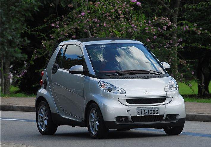 smart fortwo coupé 1.0 (R$ 57.900)