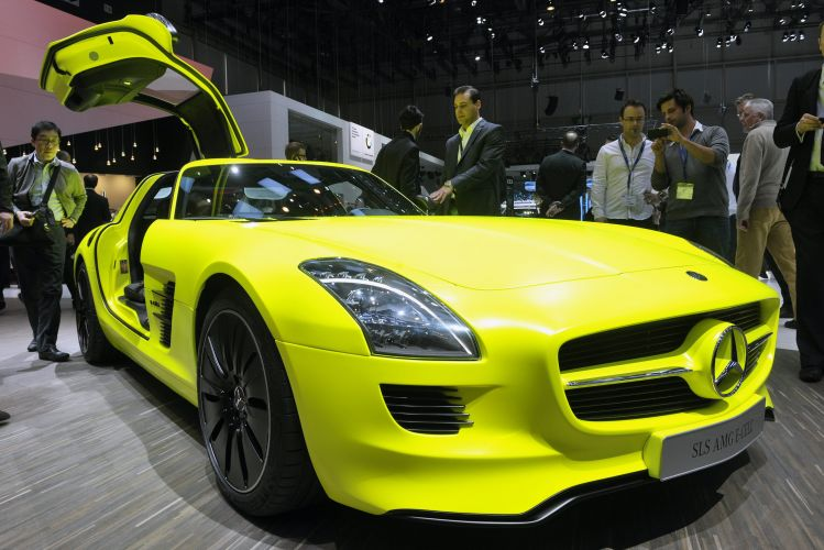 <b>Mercedes-Benz SLS AMG E-Cell</b>