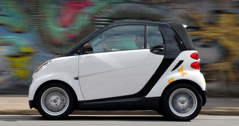 smart fortwo coupé/cabrio