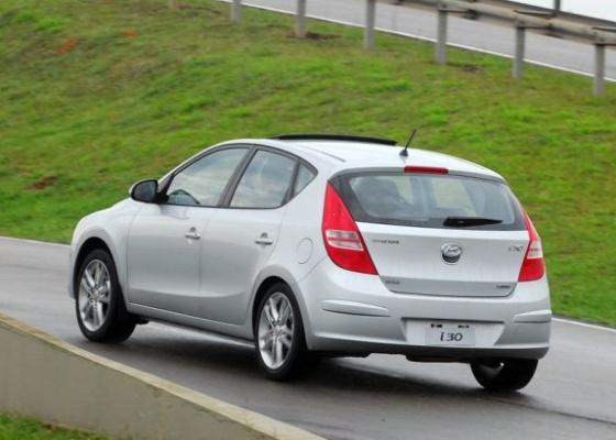 Com nova fábrica no interior de São Paulo, Hyundai quer ampliar sucesso alcançado com médio i30 (foto) com modelo compacto para o segmento de entrada do mercado - Murilo Góes/UOL