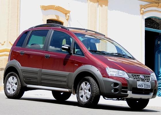 Fiat Idea Adventure Locker Dualogic Mostra Excessiva