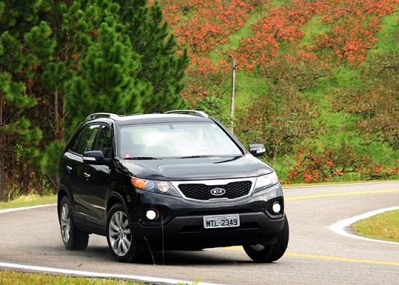 Sorento dá novo fôlego à gama de SUVs da Kia, que conta ainda com Sportage e Mohave - Murilo Góes/UOL