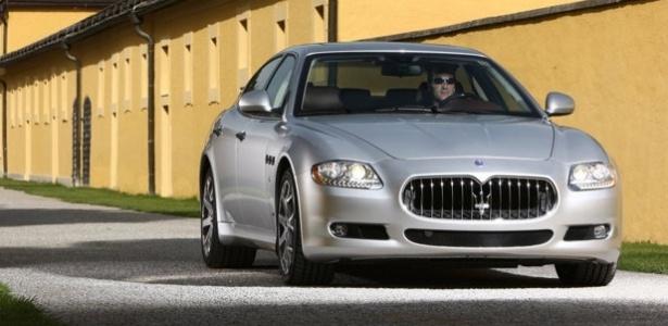 Maserati Quattroporte (foto) e GranTurismo fabricados entre 2004 e 2008 terão de passar por verificação - Divulgação