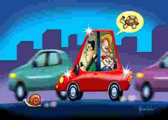 Controle a empolgação: em carros novos, o ideal é ter calma nos primeiros dois mil quilômetros - Afonso Carlos/Carta Z Notícias