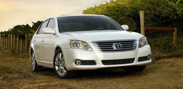 <b>Sedã grande Avalon é um dos afetados no mais recente recall da Toyota</b> - Divulgação