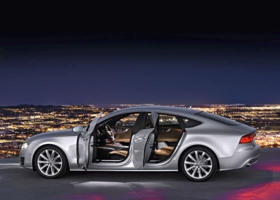 Com o A7 Sportback, Audi entra no clube inaugurado pelo Mercedes-Benz CLS - Divulgação
