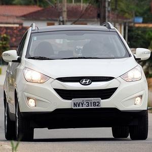 O ix35 é um dos best-sellers da Hyundai na Europa - Murilo Góes/UOL