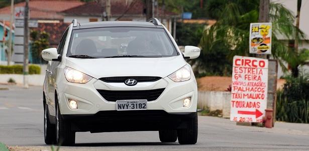Hyundai ix35 de lançamento tem problema no arrefecimento da transmissão - Murilo Góes/UOL