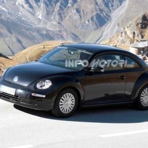 Volkswagen New Beetle -- o novo mesmo -- é visto antes do lançamento