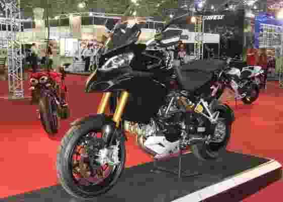 Ducati Multistrada 1200 estreou no Brasil no Salão da Motocicleta, em São Paulo (SP) - Aldo Tizzani/Infomoto