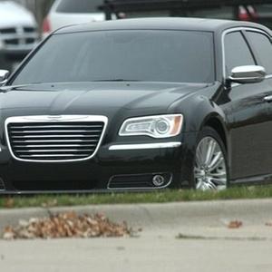 Uma das primeira imagens do Chrysler 300C depois da fusão com a Fiat