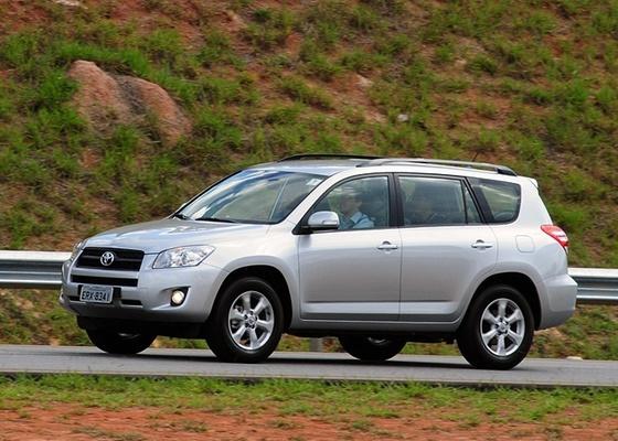 Toyota RAV4, veterano SUV da marca japonesa, agora pode ter tração simples e preço menor - Murilo Góes/UOL