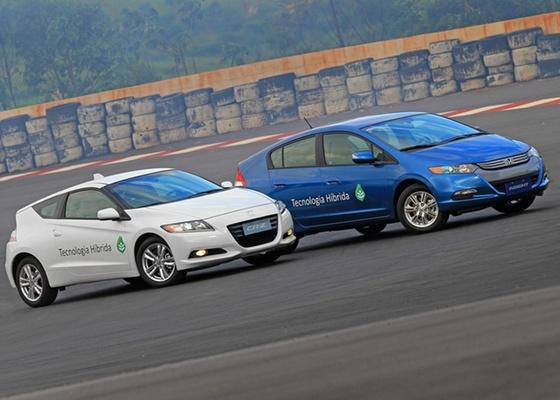Honda CR-Z e Insight: atrações do Salão do Automóvel oferecem visão de um futuro próximo - Caio Mattos/Divulgação