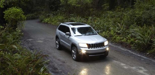 Jeep Grand Cherokee 2011/2011 pode ter falhas e até paradas repentinas do motor - Divulgação