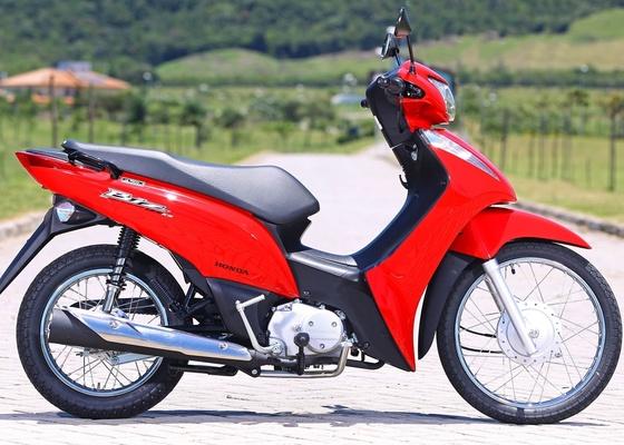 Além da tecnologia bicombustível, Biz 125 ganha novo conjunto visual e melhor ergonomia em sua quarta geração - Divulgação