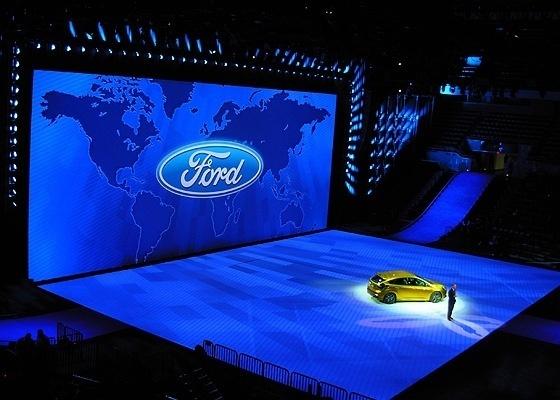 <b>Bill Ford, presidente do conselho e bisneto de Henry Ford, no evento em Detroit</b>