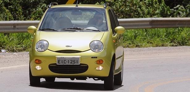 QQ: modelo mudou na China e será feito no Brasil em 2014; na foto, o que está em oferta - Murilo Góes/UOL