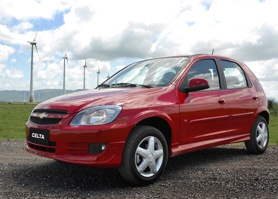 Chevrolet Celta 2012 traz frente renovada para ganhar algum tempo a mais de vida e vendas - Divulgação