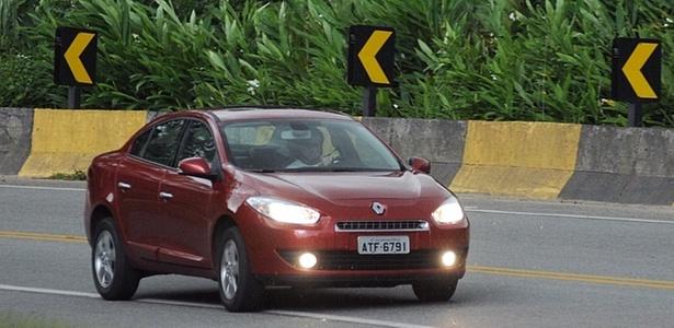 Fluence bate rivais Corolla, Civic e Vectra com conforto, estilo, equipamento e bom porta-malas - Murilo Góes/UOL