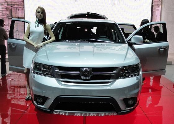 <b>Fiat Freemont em Genebra: sim, este carro não nos é estranho...</b> - Claudio de Souza/UOL