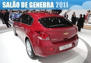 GM Cruze Hatch Traseira selo