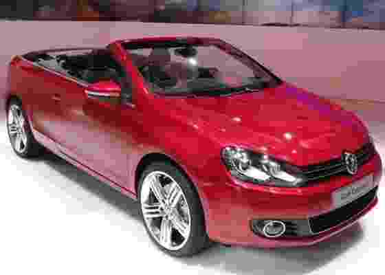 <b>Golf Cabriolet é a estrela inquestionável do estande da Volkswagen</b> - Claudio de Souza/UOL