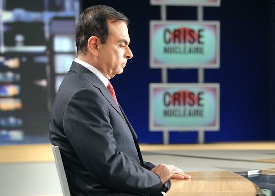 Carlos Ghosn, presidente da Renault-Nissan, vai à TV francesa explicar fraude e pedir desculpas - Pierre Verdy/AFP