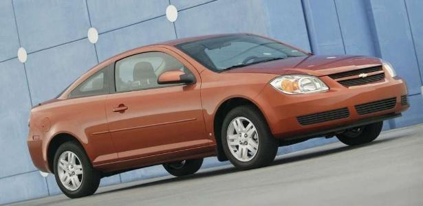 Chevrolet Cobalt norte-americano, feito entre 2005 e 2007, está entre 1,7 milhão de carros com defeito - Divulgação
