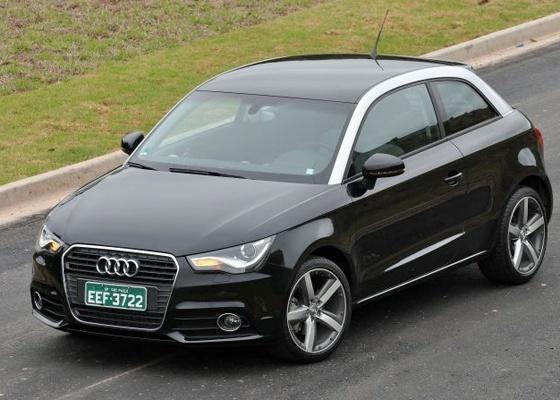<b>A1: pequeno, mas invocado e bom de asfalto, carrinho é porta de entrada para a Audi</b> - André-Larangeira/Divulgação