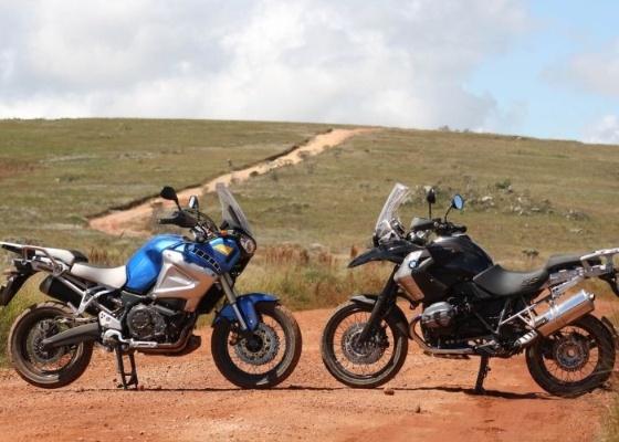 As big-trails da Yamaha e da BMW se enfrentaram em um trajeto de 1.500 km - Arthur Caldeira/Infomoto