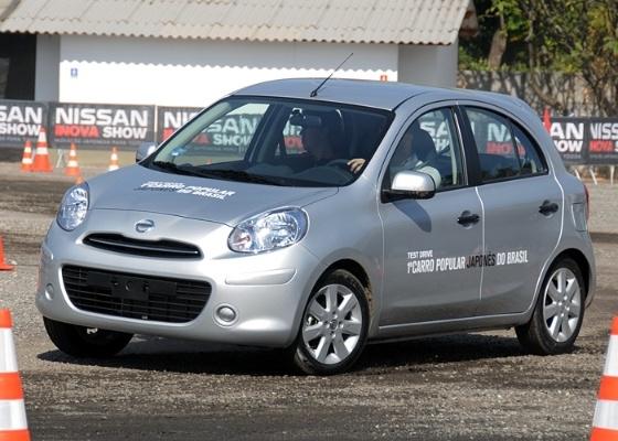 """Nissan anuncia March como """"japonês"""", mas carro virá ao Brasil do México e deve mudar o paradigma das importações oriundas daquele país; Chevrolet Sonic é o próximo - Murilo Góes/UOL"""