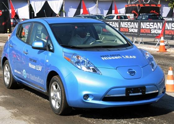<b>Nissan Leaf circulando em São Paulo: ecos de um futuro (possível e não tão) distante</b> - Murilo Góes/UOL