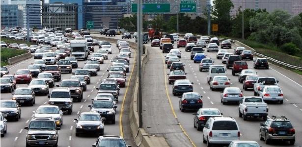 Motoristas da América do Norte têm comportamento mais agressivo no rush de terça-feira, segundo pesquisa  - Divulgação