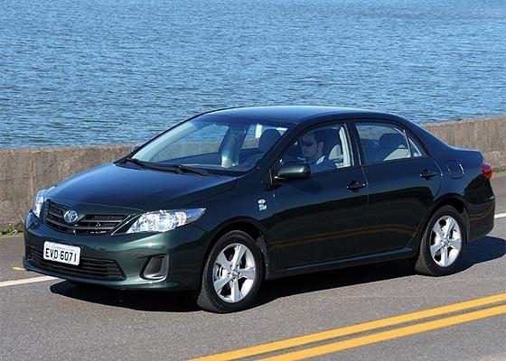 <b>Toyota Corolla é o único modelo médio entre os 15 mais vendidos -- no último lugar</b> - Murilo Góes/UOL