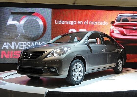 <b>Nissan Versa, fabricado no México e com lançamento previsto para o Brasil</b> - Claudio de Souza/UOL