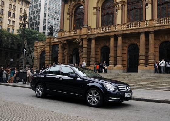O sedã Classe C é o principal responsável pelo bom resultado da Mercedes nos EUA - Murilo Góes/UOL