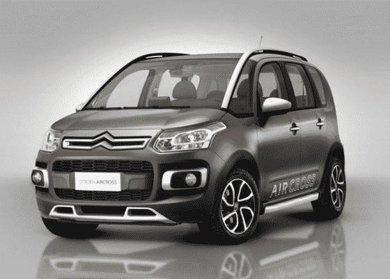 Monovolume aventureiro, Citroën Aircross custa agora a partir de R$ 49.130 - Divulgação
