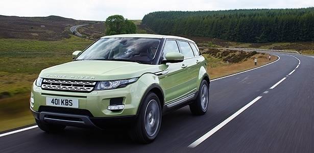 """Evoque: """"baby Range Rover"""" chega ao Brasil em novembro beirando os R$ 180 mil - Divulgação"""