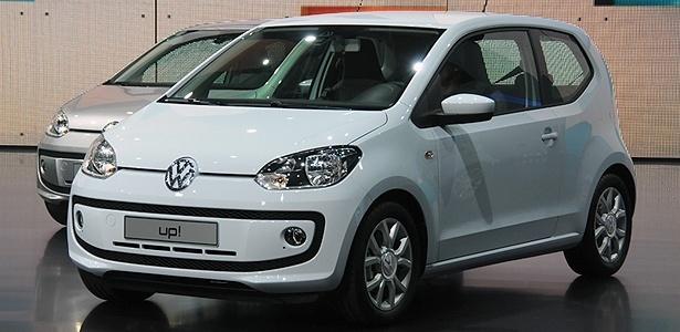 Volkswagen Up ao ser apresentado na Alemanha: no Brasil, é esperado para 2014