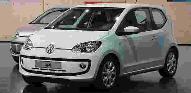 Volkswagen Up durante apresentação na Alemanha: no Brasil, é esperado em 2014 - Murilo Góes/UOL