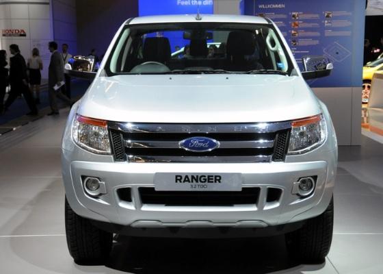 Ford Ranger de nova geração é vista no Salão de Frankfurt e deve chegar ao Brasil em 2012 - Divulgação
