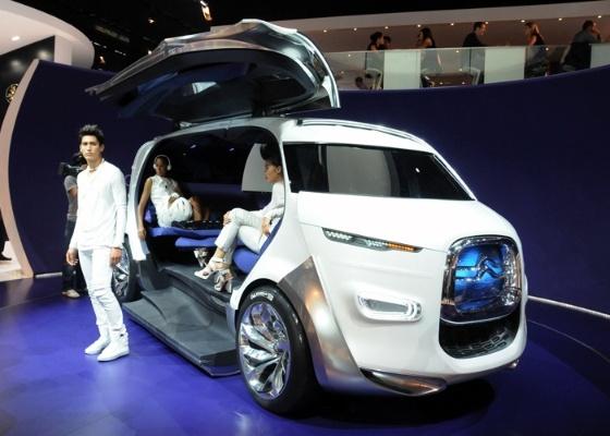 Citroën Tubik: veículo para até nove pessoas aponta coletividade contra ideia do carro particular - Murilo Góes/UOL