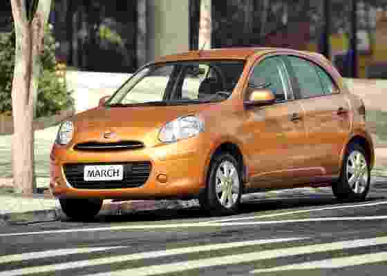Pequeno March é a principal arma da Nissan para ganhar participação no mercado nacional - Divulgação
