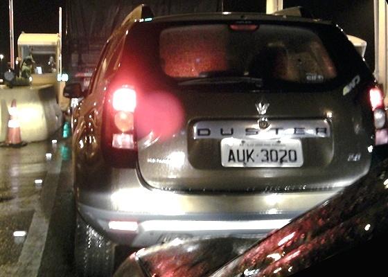 <b>Renault Duster</b> em versão 4WD numa rodovia de Santa Catarina: ele ousa dizer seu nome - Paulo Roberto Grah/UOL